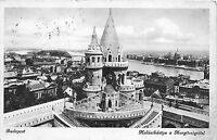 B35932 Budapest Halaszbastya a Margitszigettel    hungary