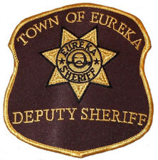 Eureka TV Series Town of Eureka Deputy Sheriff Embroidered Patch
