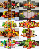 Healthy Vegetables Painting Good Food Wall Art Kitchen Home Decor 5pCanvas Print