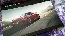 Jaguar F Type Sales Brochure 18.5 MY - incl SVR - English - SOFTBACK - 116pgs