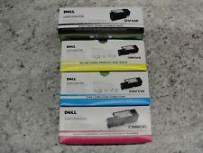 Dell Series 1250/1350/1355 Black/Tri-Color Toner Cartridge Lot Brand New/Sealed