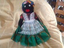 Black Americana Cloth Doll, Capetown Native Nanny, vintage beauty