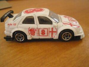 Matchbox - Alfa Romeo 155 - 1996 - White - Cjina
