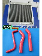 aluminum radiator Honda ATV TRX450R TRX 450 2004-2009 2005 2006 2007 2008+hose