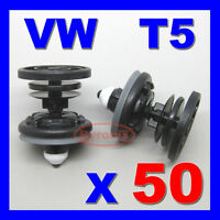 TRANSPORTER DOOR CLIPS T5 T6 PANEL CARD TRIM INTERIOR GENUINE VOLKSWAGEN VW X 50