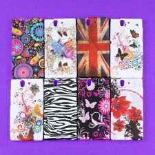 Lot Back Skin Case TPU Hard Cover Protector for Sony Xperia Z L36h C6603