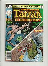Tarzan - Lord of the Jungle  #24  VF