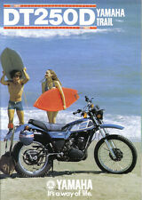 Yamaha DT250D Sales Brochure, 1977 Original NOS