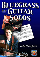 Learn Guitar Bluegrass Guitar Solos (DVD) Guitar Instruction Course