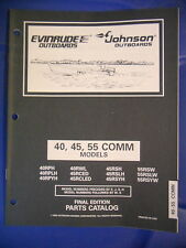 Omc Evinrude Johnson Outboards Parts Catalog 40 45 55 Comm Models