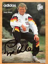 Original, nicht zertifiziert AK  SEPP MAYER DFB  Bayern München  ADDIDAS 1990