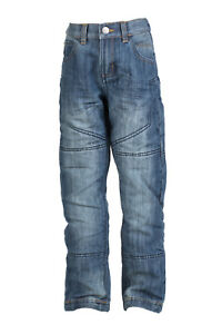 Bull-it Motorcycle Childrens Covec SR4 Kids Jeans Ice Blue - Free Knee Armour