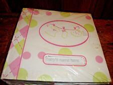"Baby Photo Album Chick Pea by Cutie Pie Baby Inc 200 Photos 4"" X 6"""