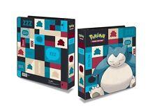 Classeur Pokémon SNORLAX + 100 feuilles Ultra Pro album pour 1800 cartes 411865