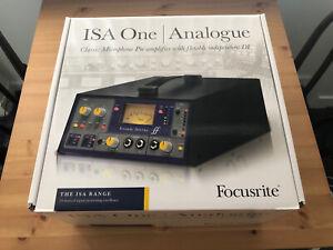 Focusrite ISA One Classic Microphone Pre-amp and DI