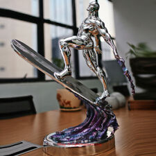 Personalizado 1/4 de privada Cuatro Fantásticos Silver Surfer De Resina Estatua esculturas en existencias