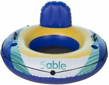Sable Inflatable Water Float Floating Tube Pool Lounger for Pool Lake River