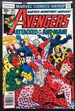 Marvel Comics The Avengers #161 Ant-Man vs Avengers (1977) Ultron Appearance