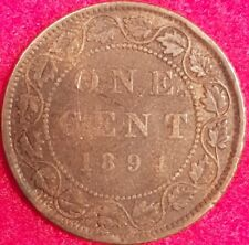 1894 VF Canadain Large Penny  #59A-9