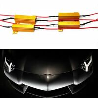 4x 50W 6 ohm Load Resistor For Fix LED Bulb Fast Hyper Flash Turn Signal Blinker