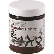 Nature's Goodness Active Manuka Honey UMF 20 Plus 250g Topical Applications