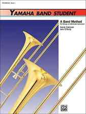 "YAMAHA BAND STUDENT ""TROMBONE"" MUSIC BOOK LEVEL 1 ON SALE INSTRUCTION BRAND NEW!"