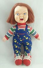 "Child's Play 2 Chucky 14"" Doll Universal Studios Licensed by Toy Works"