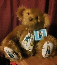 Handmade Bear - A Tribute To Peter Rabbit - with coin