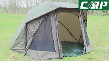 Carp-Zone Oval Brolly System F.S Extra - Extended Front Panel and Rear Air Vents