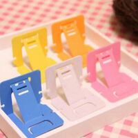 IG_ 5Pcs Lazy Plastic Universal Portable Foldable Card Mobile Phone Stand Holder