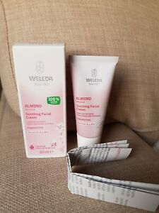 New Weleda Almond Soothing Facial Cream Sensitive Dry Skin 30ml