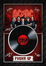 More details for ac/dc -power up -  signed original a4 photo print memorabilia