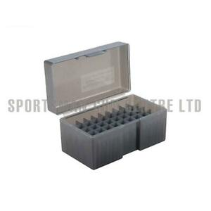 Frankford Arsenal Hinge Top Ammo Box 512 .22BR/6.8 Rem SPC/7.62x39 50 Rnd Blue