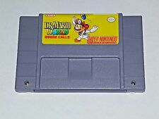Dr. Mario World House Calls - game cart For SNES Super Nintendo - Platformer -
