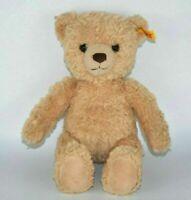 "Steiff Little Kim Teddy Bear Plush Stuffed Animal  11"" High EAN 013577"