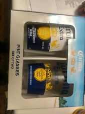 NIB Corona Extra Pint Glass Set