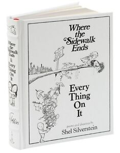 WHERE THE SIDEWALK ENDS / EVERY THING ON IT ~Shel Silverstein ~SEALED~BRAND NEW~