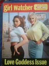 GIRL WATCHER MAGAZINE #2 FN June 1959 Pinups & Humor, June Wilkinson