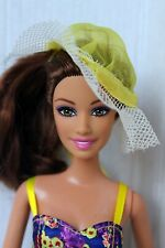 Barbie Doll Teresa Fashionista Redressed Beautiful