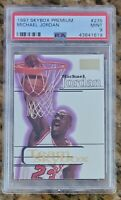 HOF Michael Jordan 1997-1998 Skybox Premium #235 Chicago Bulls PSA 9 MINT