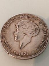 piece 10 Francs argent luxembourgoise 1929