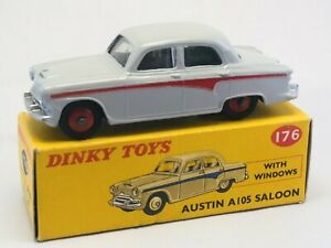 Dinky 176: Austin A105 Saloon - excellent to mint model + box!