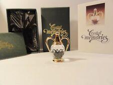 Swarovski Crystal Memories Figurine Greek Amphora Vase 9460 Nr 000 006 Box & Coa