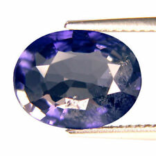 3.20 Ct Spectacular Oval Shape (11.6 X 9) Violet Blue Tanzania Iolite Gemstone