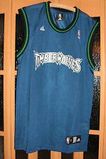 NBA ärmelloses Herren Basketball Shirt adidas Blau Gr. S groß! Timberwolves NEU!