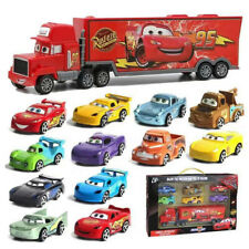 New Cars Pull Toy 3 Lightning McQueen Racer Mack Truck Kids Collection Set Gift