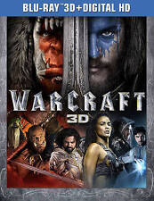 Warcraft (3D Blu-ray Disc ONLY, 2016)