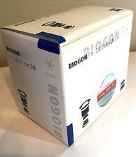 New  Carl Zeiss BIOGON  T * 21mm f2.8 ZM Lens for Leica - Black - JAPAN