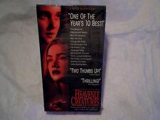 HEAVENLY CREATURES VHS MOVIE,Kate Winslet,Melanie Lynskey,s.peirse,peter jackson