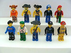 Lego Jack Stone Minifigure Lot Of 10